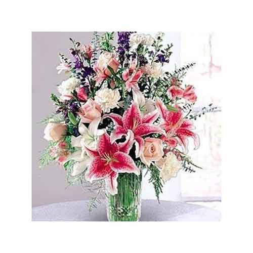 Star Gazer Bouquet - Guyana Delivery Only