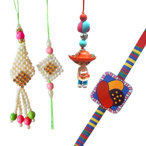 Family Rakhi - 27 - USA Delivery Only