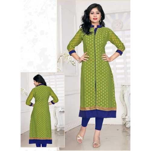 Incredible Achkan Kurti Style with Lace Work