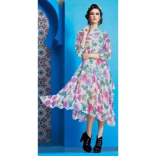 Inspiring Multi Color Designer Kurti