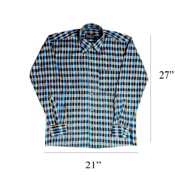 Check Casual Shirt 1