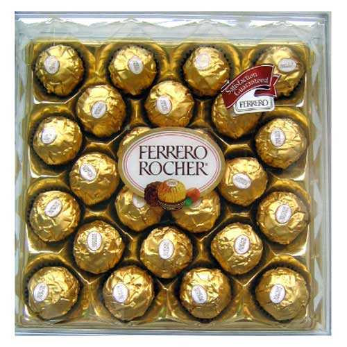 Ferrero Rocher 24 Pieces - Bhai Dooj Gifts