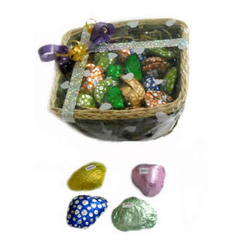 Hand Made Chocolates Basket - Bhai Dooj Gifts
