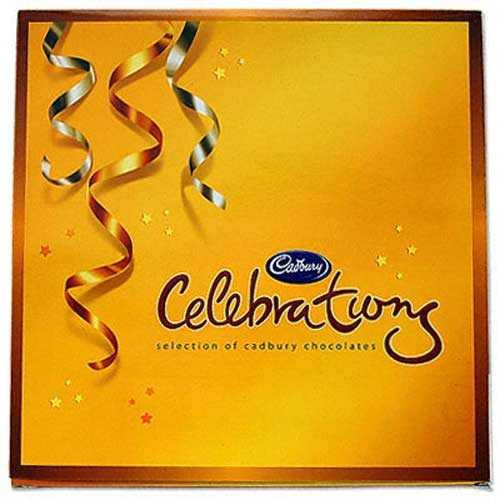 Cadbury Celebrations Big X 2 nos - Bhai Dooj Gifts