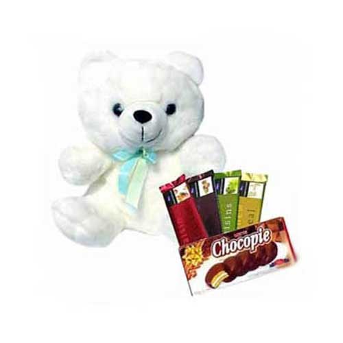 Chocopie Chocolates & Teddy
