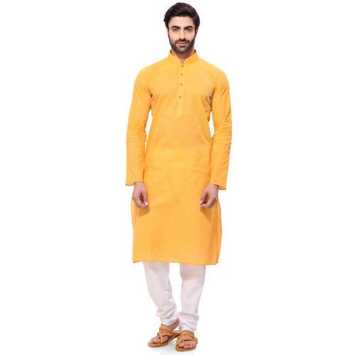 Yellow Kurta for Men