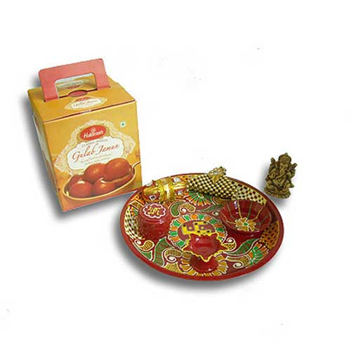 Thali & Sweets 19 - India Delivery Only