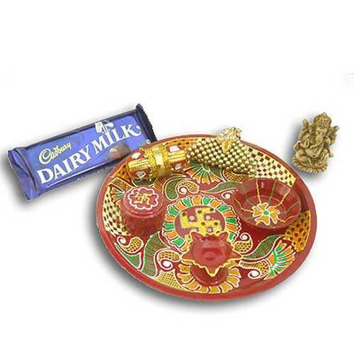 Swastik Thali with Ganeshji 20