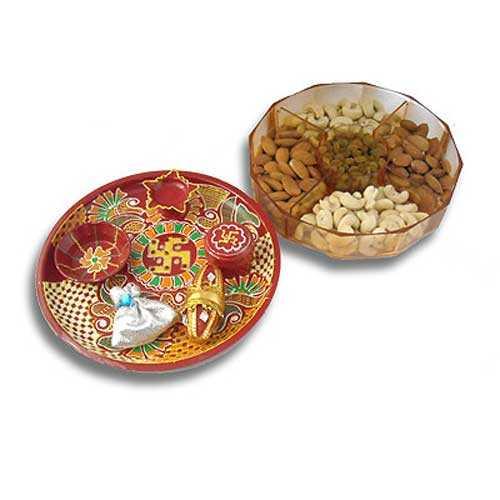 Swastik Thali & Dry Fruits 500Gms 21