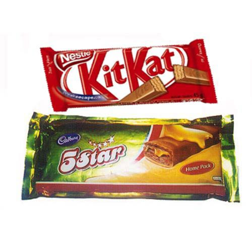 Cadburys - Kit Kat and 5 Star