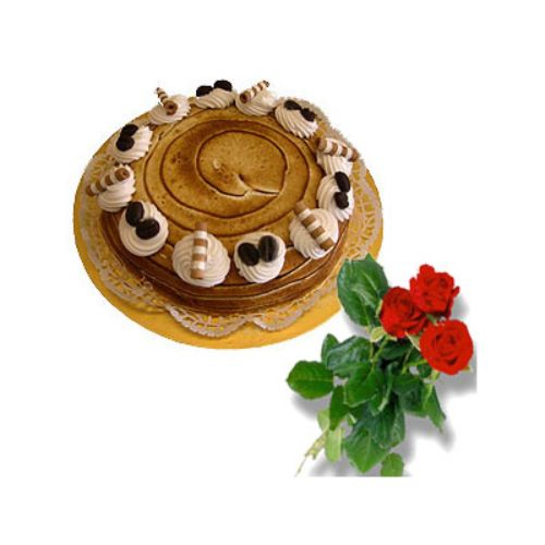 Capuccino Dome Cake - Malaysia Delivery Only