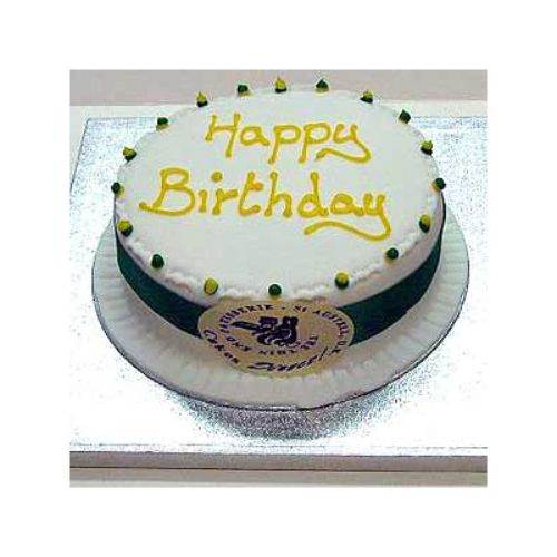 Happy Birthday Cake - Saudi Arabia Delivery Only