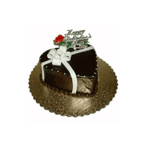 Chocolate Heart Cake - Indonesia Delivery Only