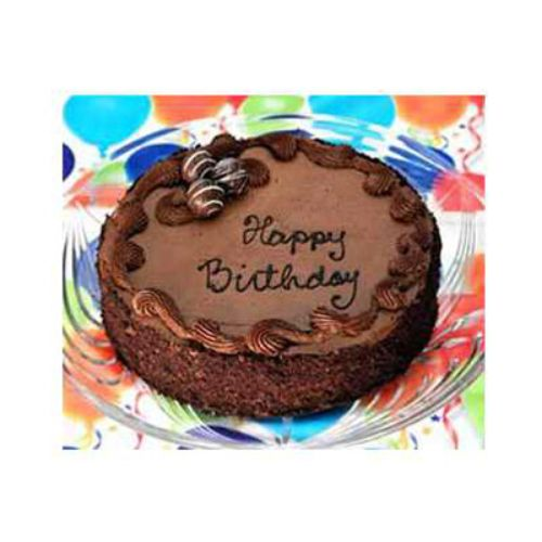 Same Day Delivery Chocolate Birthday Cake - Big