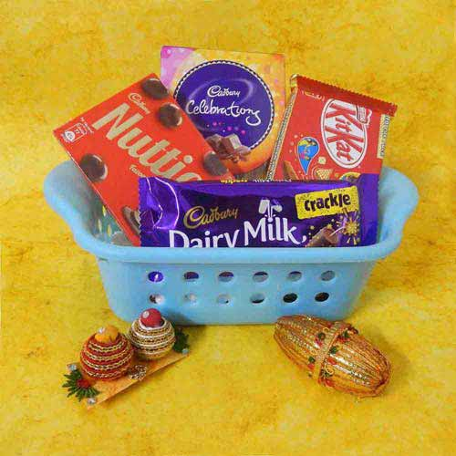 Chocolate Hamper With Basket - USA Delivery Only