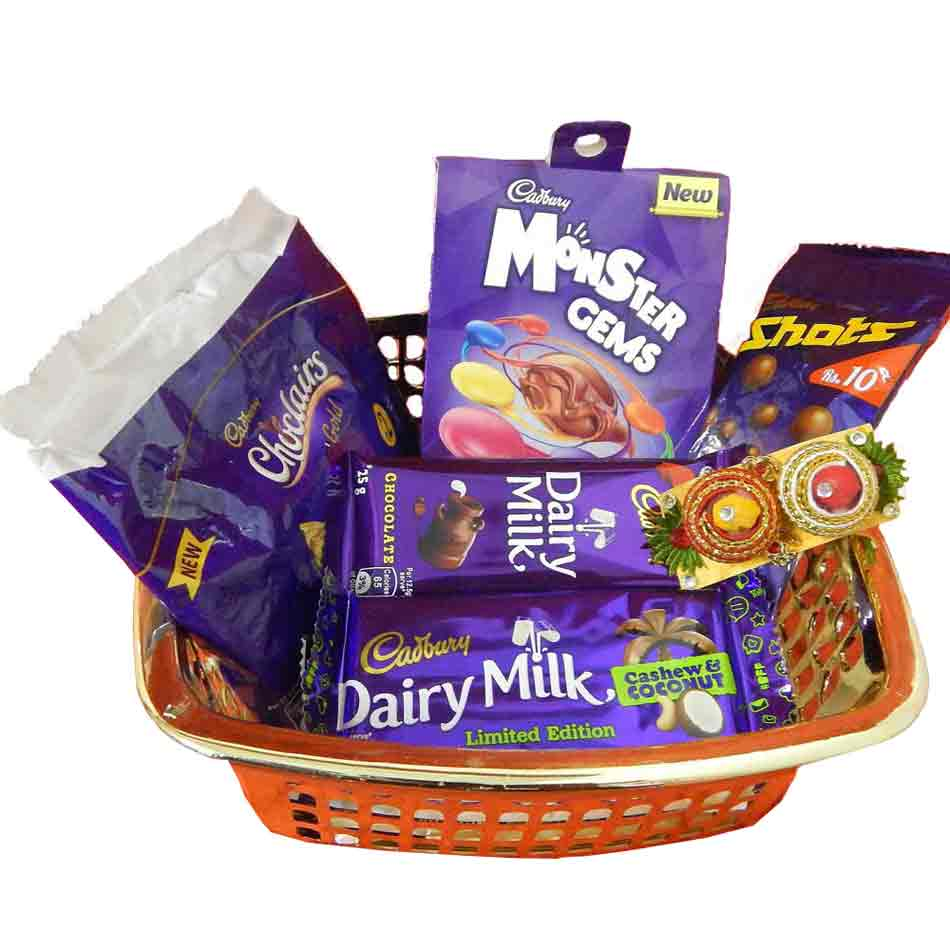 Chocolate Hamper With Basket -Singapore Delivery Only