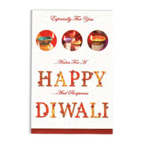 Diwali Greeting Card - 11093