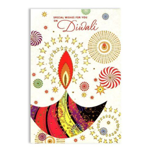 Diwali Greeting Card - 11094