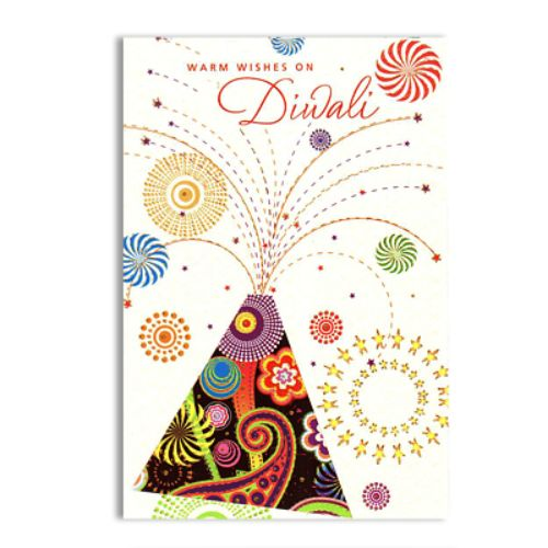 Diwali Greeting Card - 11095