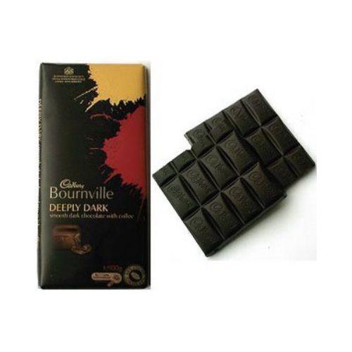 4 Pcs CADBURY BOUNRVILLE FINE DARK CHOCOLATE- 4 Nos- Australia