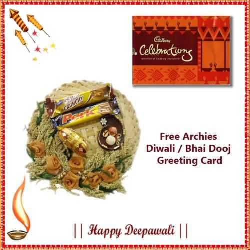 Diwali Express Hamper 12 - US, UK & Canada Delivery Only