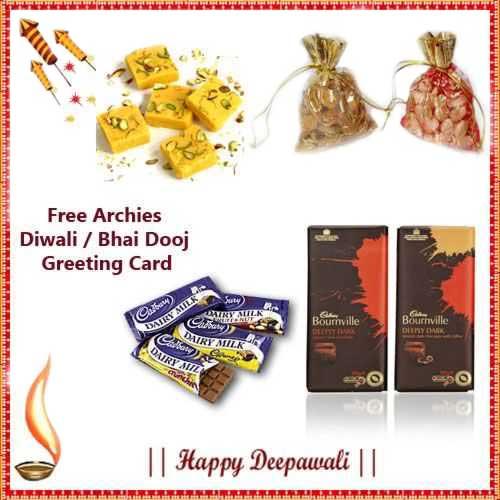 Diwali Express Hamper 14 - US, UK & Canada Delivery Only