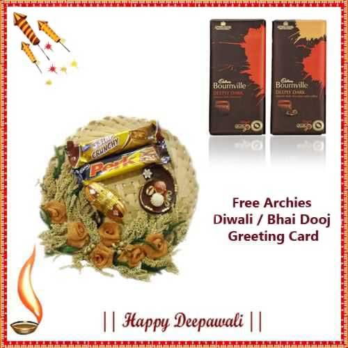 Diwali Express Hamper 8 - US, UK & Canada Delivery Only