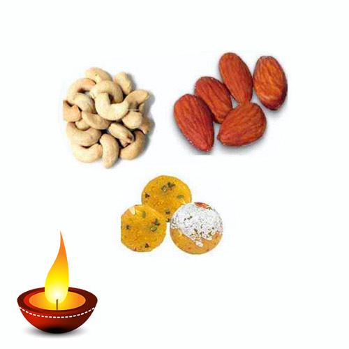 Dry Fruits & Besan Ladoo Hamper - 11048 - Australia Delivery Onl