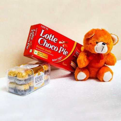 Chocolate & Teddy - UK Delivery Only