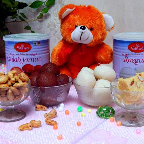 Chocolaty Sweets Teddy - India Delivery Only