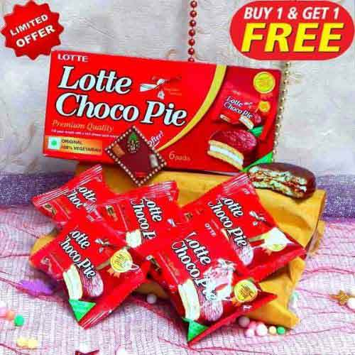 Lotte Choco Pie Chocolate - BUY 1 GET 1 FREE - Australia Only