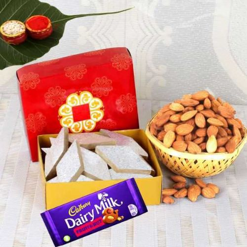 Chocolate With Sweet & Badam - Australia Delivery Only