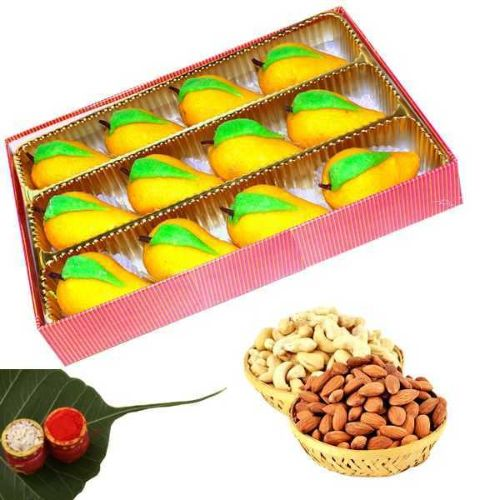 Sweet & Dry Fruits Hamper - USA Delivery Only