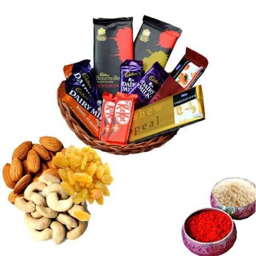 Chocolates With Dry Fruits - Canada Delivery Only