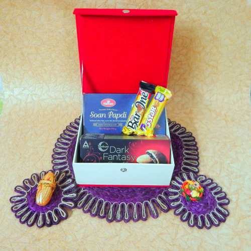 Chocolates In jewellery Box - CANADA Delivery Only