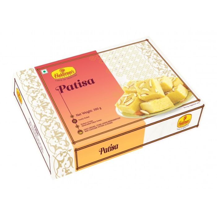 Haldiram's Patisha 350 gms - USA DELIVERY Only