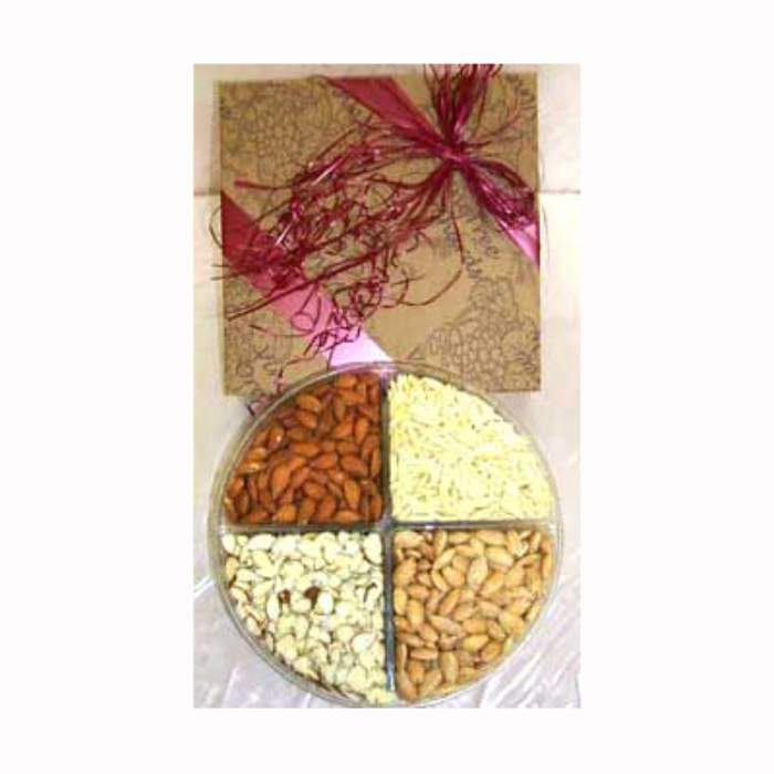 Mixed Dry-Fruits 400 gms with Rakhi
