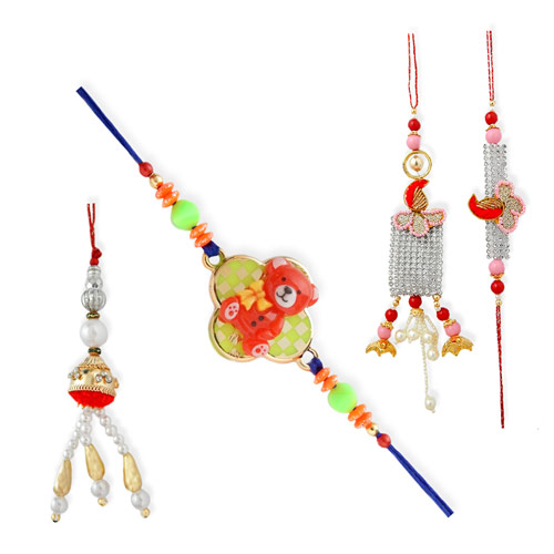 Joyous Family Rakhi - 22 - UK Delivery Only