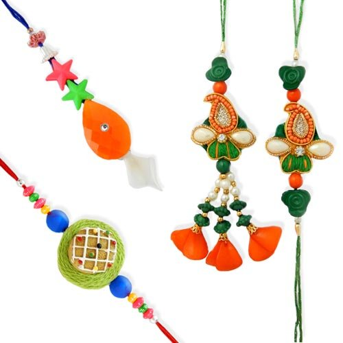 Incredible Family Rakhi - 21 - CANADA Delivery Only