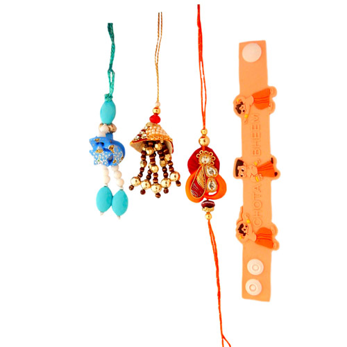 Family Rakhi - 25 - CANADA Delivery Only