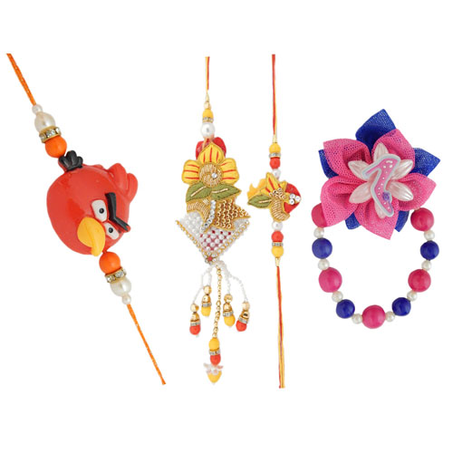 Family Rakhi - 17- CANADA Delivery Only