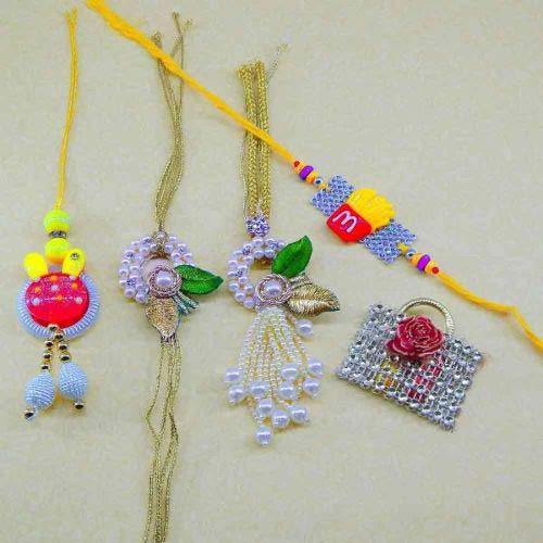 Family Rakhi Set - 06 - CANADA Delivery Only
