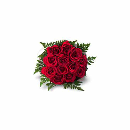 12 Red Roses - India Delivery Only