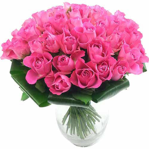 51 Pink Roses - India Delivery Only