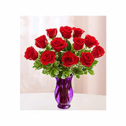 Classic Roses Vased
