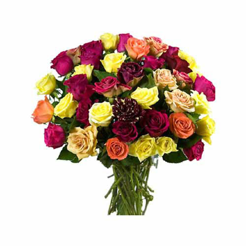 Mixed Rose Bouquet - UAE Delivery Only