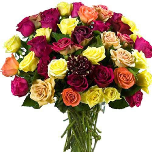 Mixed Rose Bouquet - Malta Delivery Only