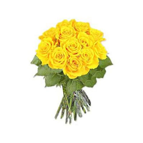 Long Stem Yellow Roses- Saudi Arabia Delivery Only