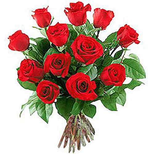 12 Long Stem Roses - Austria Delivery Only