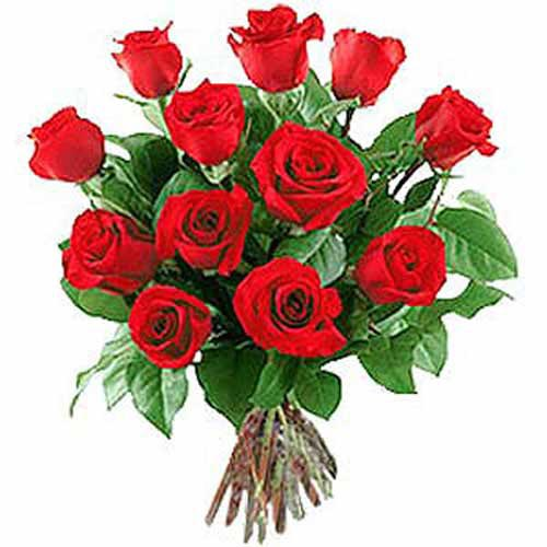 12 Long Stem Roses - Poland Delivery Only